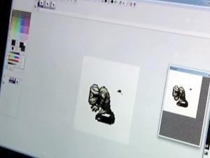 Mattis von Mojang arbeitet an der Animation einer Mumie
