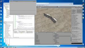 David von Wolffire arbeitet an der 3D-Engine