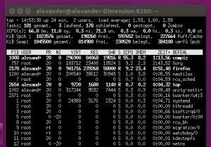 Ubuntu frisst nur mit FF und Whatsapp 66 %