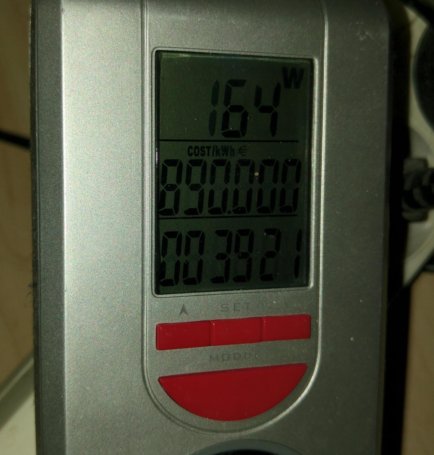 Pentium 4 162 Watt beim Benchmark