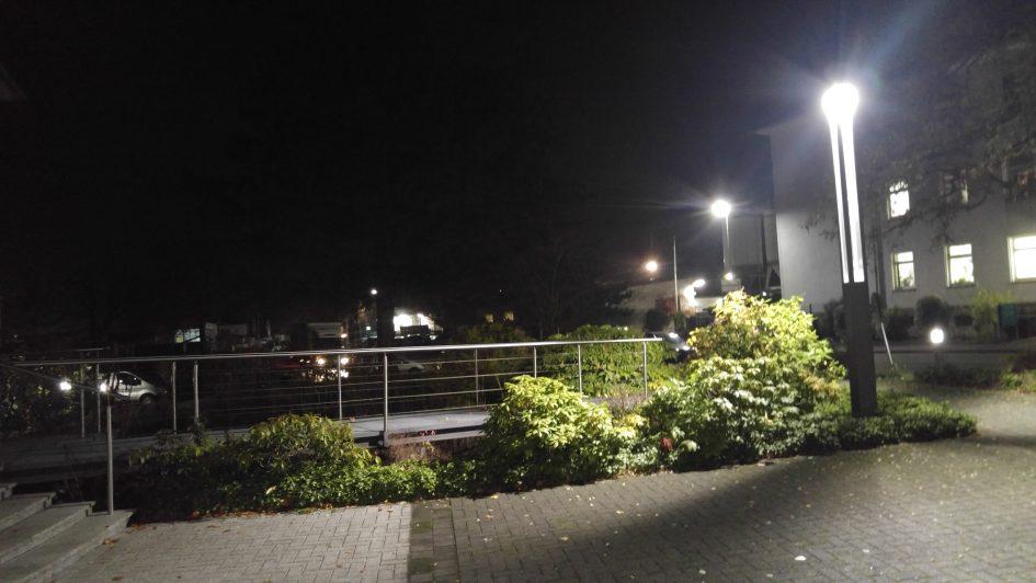 Morgens halb 6 in Iserlohn Corunna