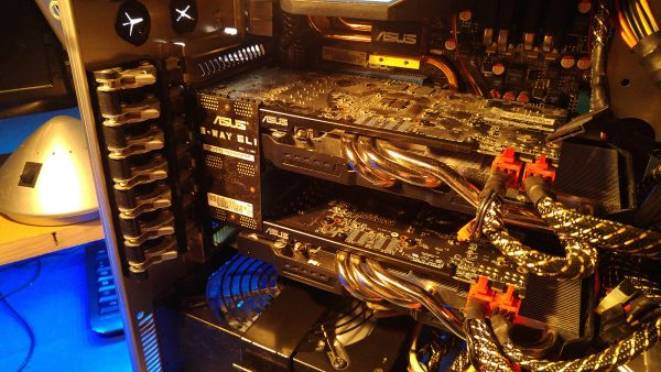 2x Asus Nvidia GTX-660 TI im SLI Verbund