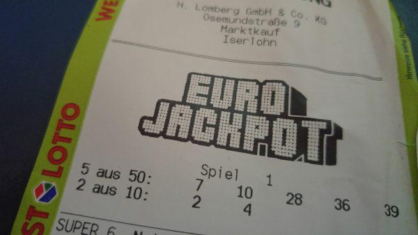 Eurojackpot Tipp