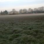 Kalter Aprilmorgen nach Ostern