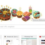 Google wünscht mir einen Happy Birthday
