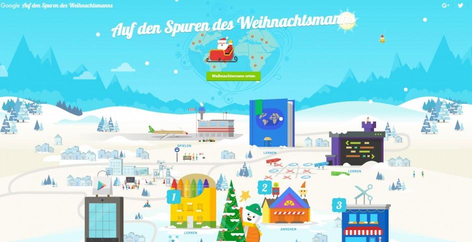 Weihnachten mit Google
