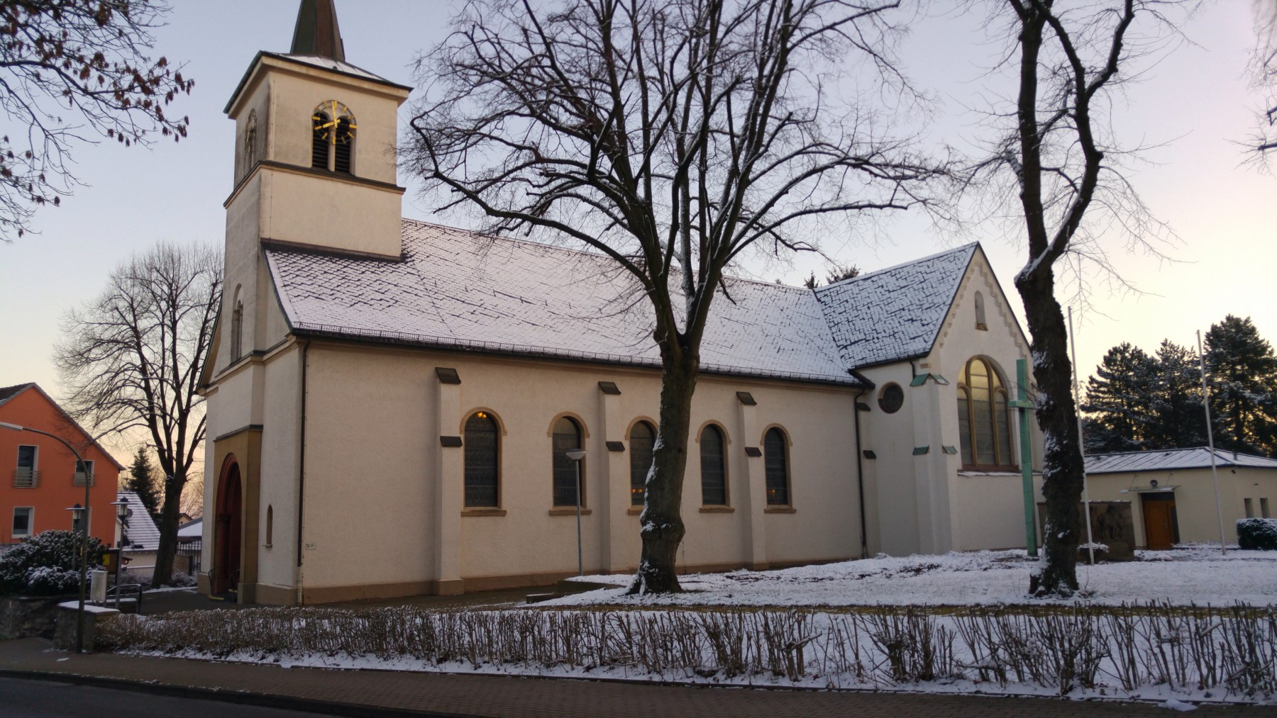 Winter 2016 - Kirche in Sümmern