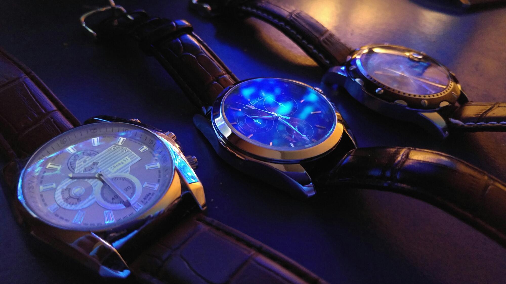 Orokina vs Chenxi - 3 Herren Armbanduhren