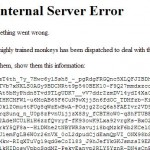 Youtube: 500 Internal Server Error